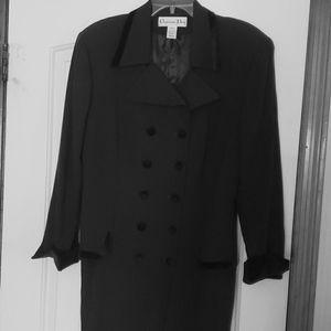 Christian Dior jacket & skirt Hunter Green